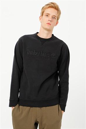 Timberland ανδρική μπλούζα φούτερ με ανάγλυφο logo print