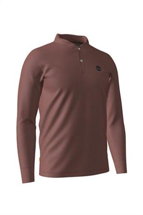 Timberland ανδρική μπλούζα πόλο με κεντημένο λογότυπο