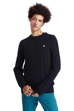 "Timberland ανδρικό πουλόβερ με ανάγλυφο σχέδιο ""Phillips Brook"""