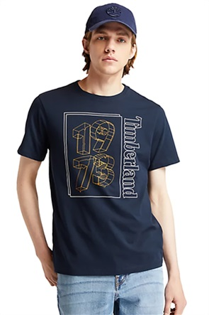 "Timberland ανδρικό T-shirt με graphic ""1973"" print"