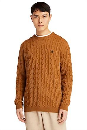 "Timberland ανδρικό πουλόβερ με πλεκτό σχέδιο ""Phillips Brook"""