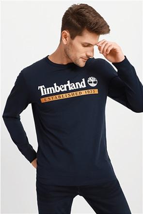 Timberland ανδρική μπλούζα με logo print στο στήθος ''Established 1973''