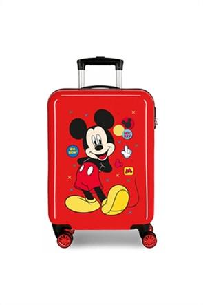 "Joumma Bags Disney παιδική βαλίτσα trolley με print ''Mickey Enjoy the Day"" 55 x 38 x 20 cm"