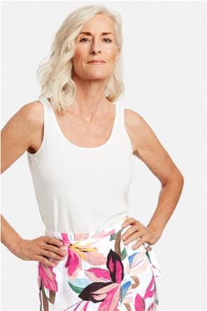 Gerry Weber γυναικεία μπλούζα αμάνικη μονόχρωμη