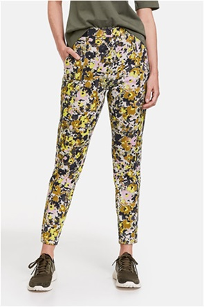 Gerry Weber γυναικείο παντελόνι με all-over floral print Slim Fit
