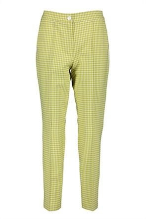 Gerry Weber γυναικείο παντελόνι pied-de-poule Slim Fit