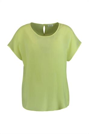 Gerry Weber γυναικείο Τ-Shirt μονόχρωμο με στρογγυλή λαιμόκοψη