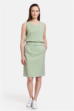 Gerry Weber γυναικεία mini φούστα με ριγέ σχέδιο και ζώνη στη μέση