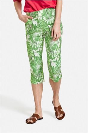 Gerry Weber γυναικείο παντελόνι capri με all-over floral print