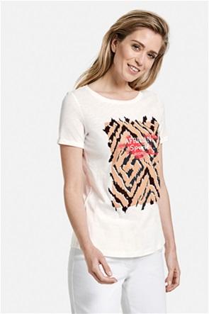 Gerry Weber γυναικείο Τ-shirt με print και lettering