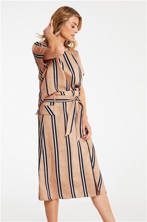 Gerry Weber γυναικεία midi φούστα με ριγέ σχέδιο και ζώνη στη μέση