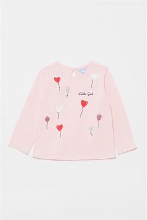 OVS βρεφική μπλούζα με balloon print (9-36 μηνών)