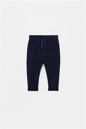 OVS βρεφικό παντελόνι φόρμας lurex (9-36 μηνών)
