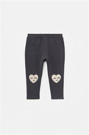 OVS βρεφικό παντελόνι φόρμας με glitter καρδιές (12-36 μηνών)