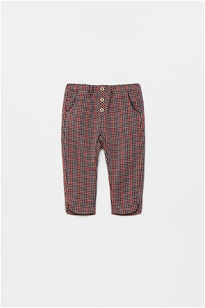 OVS βρεφικό παντελόνι με καρό σχέδιο και ελαστική μέση (12-36 μηνών)
