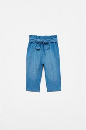 OVS βρεφικό τζην παντελόνι με ελαστική μέση (12-36 μηνών)