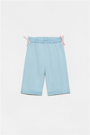 OVS βρεφική τζην παντελόνα με απλικέ φιόγκους (12-36 μηνών)