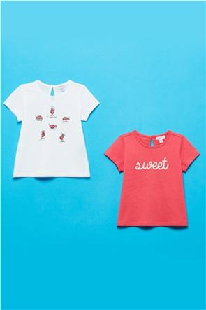 OVS βρεφικό σετ ρούχων T-shirts με graphic print (9-36 μηνών)