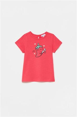 OVS βρεφικό T-shirt με chilli pepper print (9-36 μηνών)