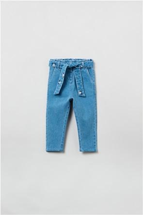 "OVS βρεφικό τζην παντελόνι με ζώνη ""Disney Baby"" (9-36 μηνών)"