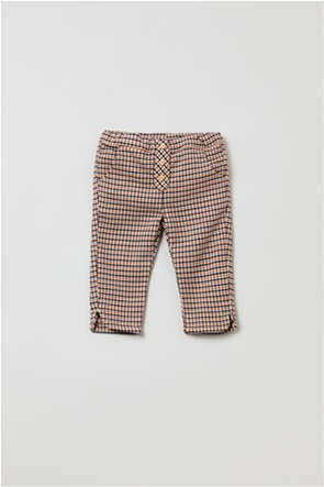 OVS βρεφικό παντελόνι καρό (9-36 μηνών)