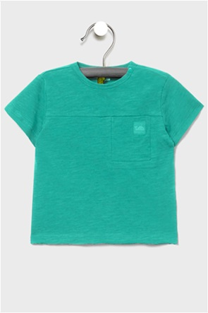 OVS βρεφικό T-shirt με απλικέ τσέπη και patch (9-36 μηνών)