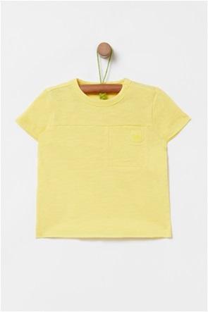 OVS βρεφικό T-shirt με σχέδιο τσέπης στο στήθος (9-36 μηνών)