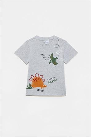 OVS βρεφικό T-shirt με dinosaurs print (12-36 μηνών)