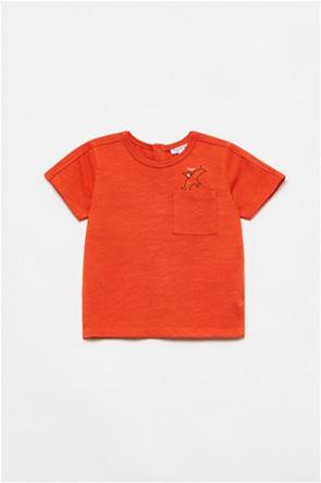 OVS βρεφικό T-shirt με flying dinosaur print (12-36 μηνών)