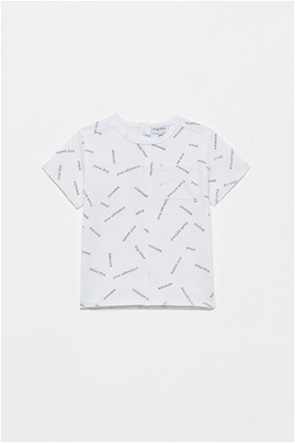OVS βρεφικό T-shirt με all-over lettering print (9-36 μηνών)