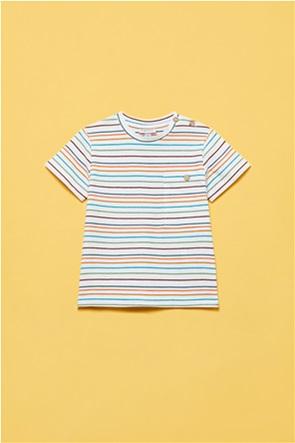 OVS βρεφικό T-shirt γιγέ με τσέπη με κουμπί (12-36 μηνών)