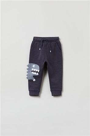 OVS βρεφικό παντελόνι φόρμας με dinosaur print (9-36 μηνών)
