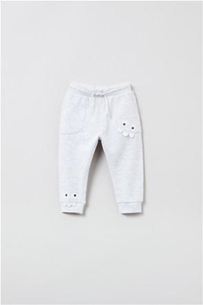 OVS βρεφικό παντελόνι φόρμας με dinosaur eyes (9-36 μηνών)