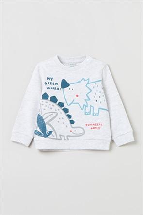OVS βρεφική μπλούζα φούτερ με graphic print (9-36 μηνών)