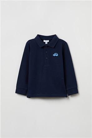 OVS βρεφική μπλούζα πόλο (9-36 μηνών)