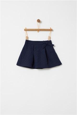 OVS παιδική φούστα με φιόγκο και ανάγλυφο σχέδιο (3-10 χρονών)