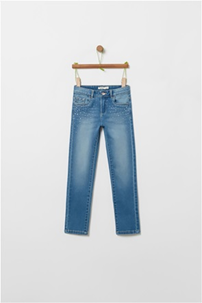OVS παιδικό denim παντελόνι με τσέπες (3-10 χρονών)