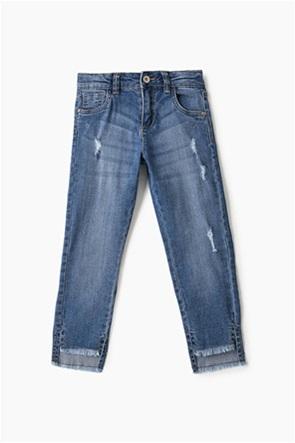 OVS παιδικό πεντάτσεπο τζην παντελόνι με φθορές (2-8 ετών)
