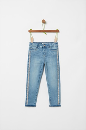 OVS παιδικό denim παντελόνι με μεταλλικές ίνες (3-10 χρονών)