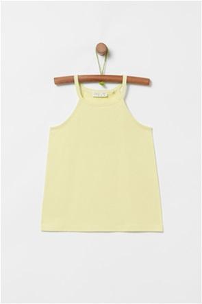 OVS παιδική αμάνικη μονόχρωμη μπλούζα (3-10 ετών)
