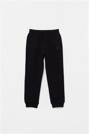 OVS παιδικό παντελόνι φόρμας με ton-sur-ton κέντημα (3-10 ετών)