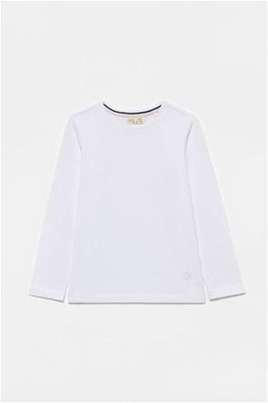 OVS παιδική μπλούζα με ton-sur-ton κέντημα (3-10 ετών)
