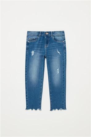 OVS παιδικό τζην παντελόνι φθαρμένο (3-10 ετών)