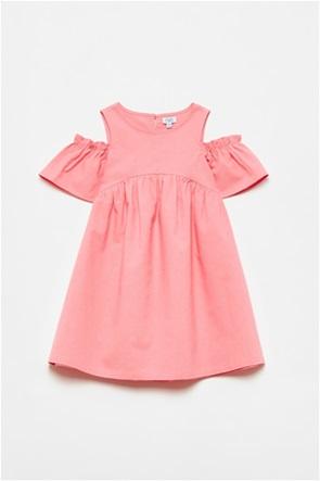 OVS παιδικό λινό φόρεμα με ανοιχτούς ώμους (3-10 ετών)