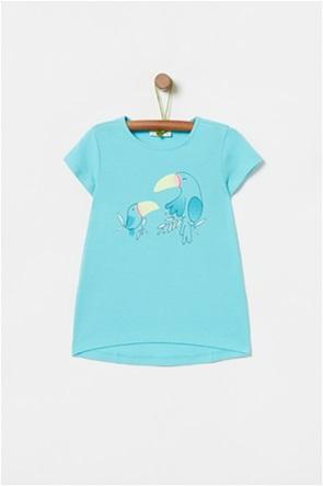OVS παιδικό T-shirt με bird print (3-10 ετών)