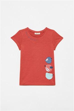 OVS παιδικό T-shirt με birds print (3-10 ετών)