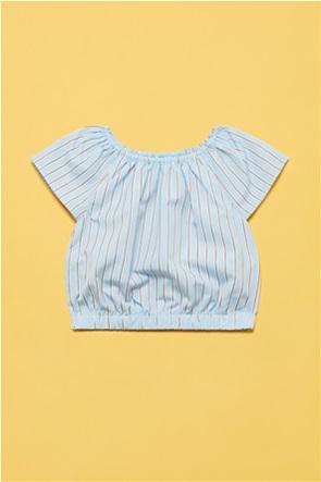 OVS παιδική μπλούζα ριγέ με ελαστική μέση (3-10 ετών)