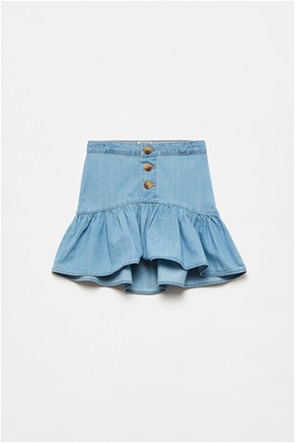 OVS παιδική denim φούστα με βολάν (3-10 ετών)