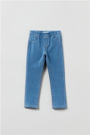 OVS παιδικό τζην παντελόνι με ελαστική μέση (3-10 ετών)