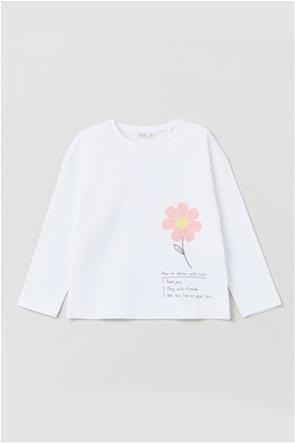 OVS παιδικό T-shirt με graphic print (3-10 ετών)